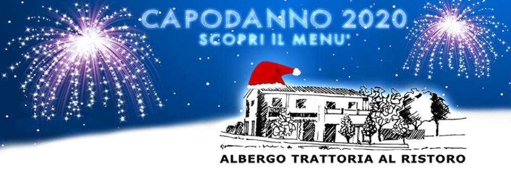 Al Ristoro Albergo Trattoria capodanno 2020 menu